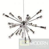 24 Long Arm Sputnik Ceiling Light Fixture