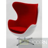 Arne Jacobsen Fiberglass Egg Chair