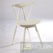 Fronter Dining Chair, White