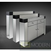 Windsor - Modern Mirrored Console Table