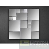 Modrest Cubist Square Wall Mirror