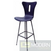 Gemma Swivel Leather Barstool