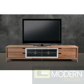 Modrest Glen Modern Walnut TV Stand
