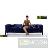 Transitional Tufted Fabric Sofa by ZInotti MCZGPS1063