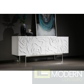 Electra Modern White High Gloss Buffet