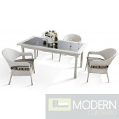 5 Piece Patio Dining Set - H20