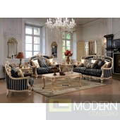 Formal Luxury Sofa and Love Seat Traditional Living Room Set