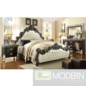Queen Amina  European Style Luxury Queen or King Bed