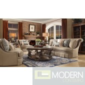 Luxury Victorian Sofa, Love Seat & Chair 3 Piece Traditional Living Room Set MCHD-1625