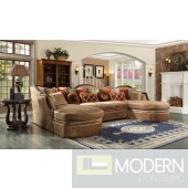 Luxury Victorian Sofa, Love Seat & Chair 3 Piece Traditional Living Room Set MCHD-1626