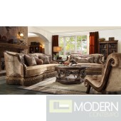 Luxury Victorian Sofa, Love Seat & Chair 3 Piece Traditional Living Room Set MCHD-1631