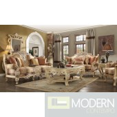 Salome Upholstery Living Room Set Victorian, European & Classic Design Sofa Set HD1633