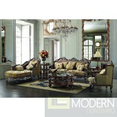 Traditional Upholstery French European Design Formal Living Room Furniture MCHD1682