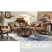 Luxury Victorian Sofa, Loveseat, and Chair 3 Piece Traditional Living Room Set MCHD-1976