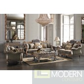 Luxury Victorian Sofa, Love Seat & Chair 3 Piece Traditional Living Room Set MCHD-287