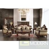 Formal Victorian Style Living Room Antique Style Luxury Sofa Set MCHD296