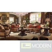 Calista upholstery living room set Victorian, European & Classic design Sofa Set MCHD39