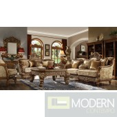 Luxury Victorian Sofa, Love Seat & Chair 3 Piece Traditional Living Room Set MCHD-610