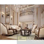 Alix Upholstery Living Room Set Victorian, European & Classic Design Sofa Set HD 823
