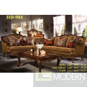 Traditional Victorian Sofa Set Formal Living Room Furniture MCH904