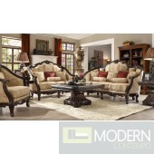 Luxury Victorian Sofa, Love Seat & Chair 3 Piece Traditional Living Room Set MCHD-953