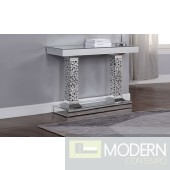 Vita Double Pedestal Console Table