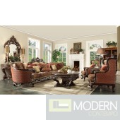 Carved wood frame Traditional sofa set  MCHD111