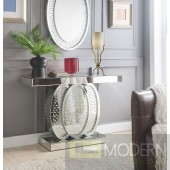 Roxanne Mirrored Console Table