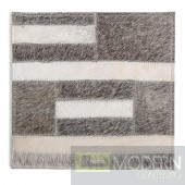 Modrest Igloo Modern Cowhide Small Area Rug