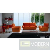 B234 Leather Sofa and Loveseat