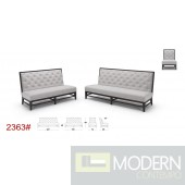 K-2363 Modern Fabric Sofa Set