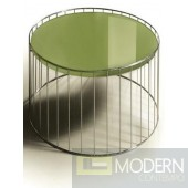 2 Versus T47A Green End Table