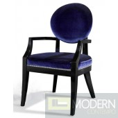A&X Blue Fabric Desk Chair