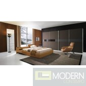 Modrest Tetra - Modern Leather Bed
