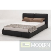 Modrest B88 Black Full Leather Bed