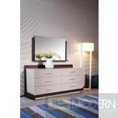 Modrest Volterra - Modern 6-Drawer Dresser