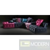 Versus Marbella  - Modern Fabric Sectional Sofa