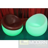 Glowing LED Leather Chair  furniture MCYK-7573-1