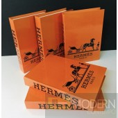 Hermes Orange Book Box