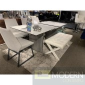 Ozark Ceramic Extension Dining  - FLOOR MODEL