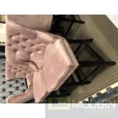 Set of 2 Pink Nikita Counter Bar stools
