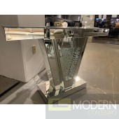 See Me Fabulous Mirrored Crystal Console