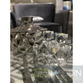 Home Square Crystal Perfume Bottle, 6""