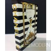 Chanel Stripes Book Box