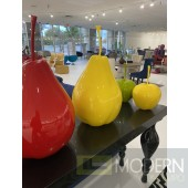 """18"""" Red Pear Table Decor"""
