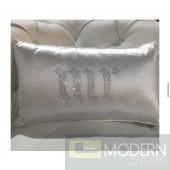 MR Lavish Rhinestone Pillow
