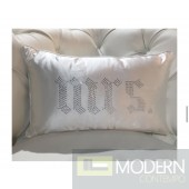 MRS Lavish Rhinestone Pillow