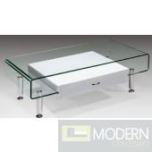 Imogen Bent Glass Coffee Table