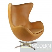 Inner Chair Leather, Light Brown