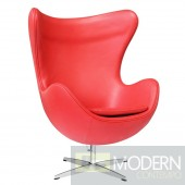 Inner Chair Leather, Red